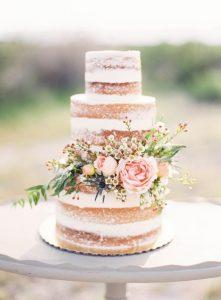 torta di nozze naked cake