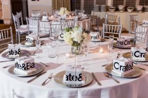 tavoli al matrimonio rotondi