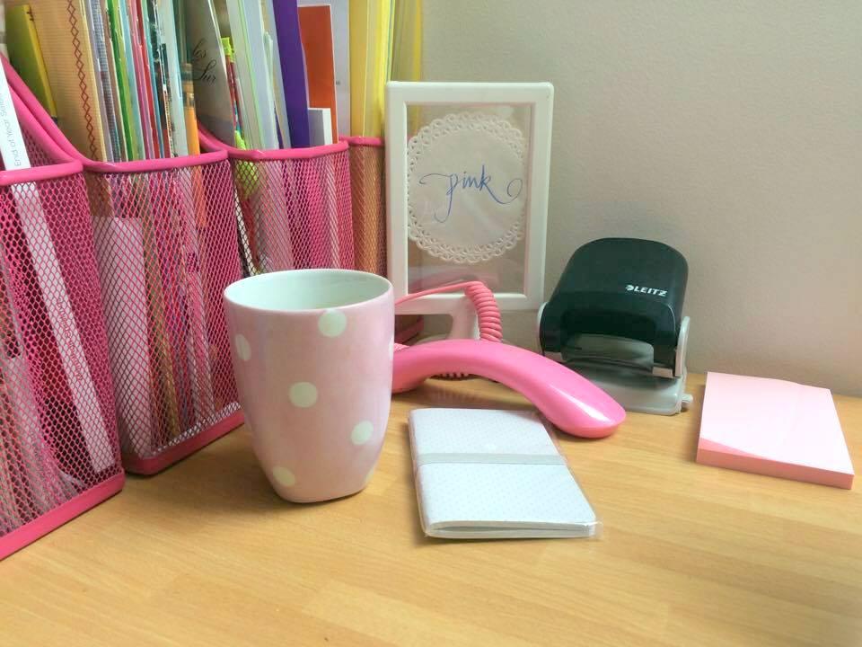 ufficio rosa di claudia pink