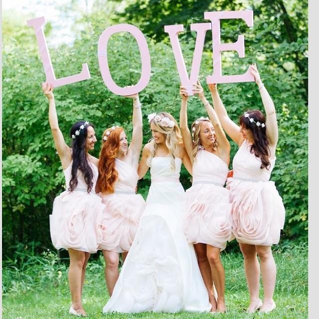coordindamento del matrimonio alle amiche