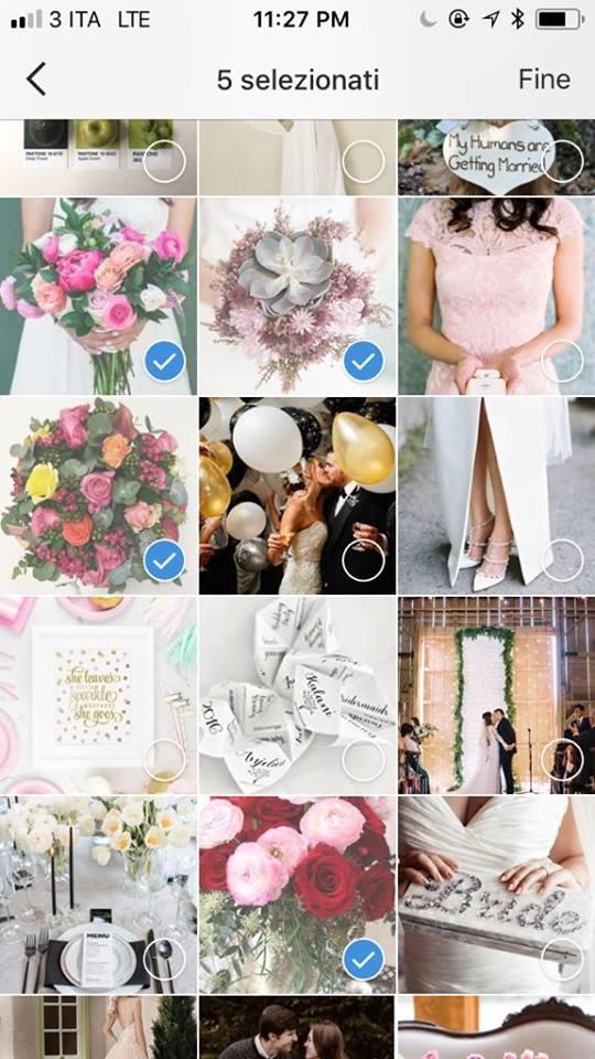 organizzare matrimonio instagram