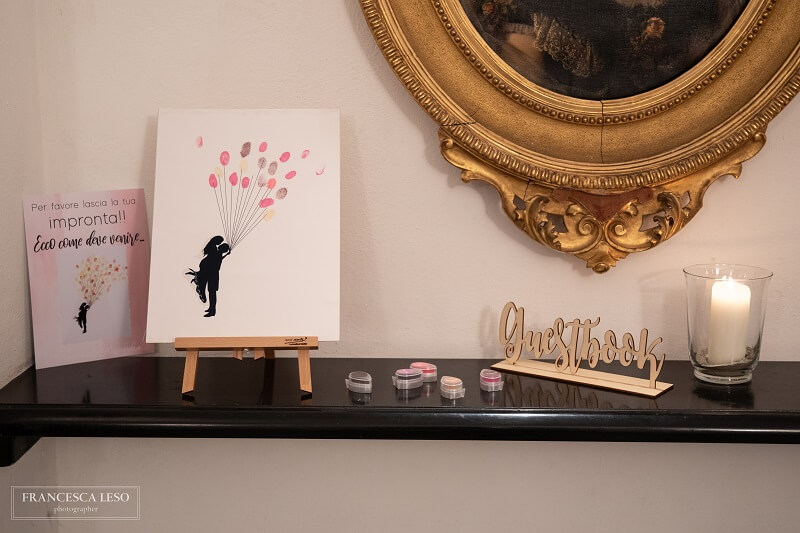 guest book tema living coral